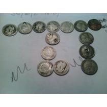 Moneda 5 Centavos 1883/96-97-98-99