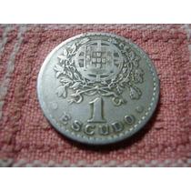 Moneda 1 Escudo 1931 República Portuguesa