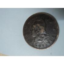 Moneda Antigua Argentina 2 Centavos De 1883