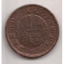 Antigua Moneda De Cobre 5/10 Año 1827