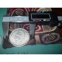 Moneda Patacon 1 Peso De Plata Escudo Argentina 1882