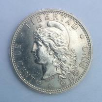 Patacon 50 Centavos 1882/1883 Argentina Impecable