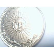 5 Pesos 1975 Sol Con Lagrima O Cuño Partido!!!!!