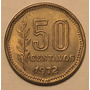 Moneda - 50 Centavos - Argentina - Año 1972