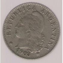 Argentina 5 Centavos 1903 Exc-