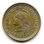 Argentina Moneda De 50 Cts. Bronce De Aluminio Año 1974