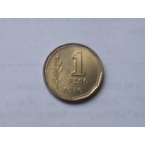 Moneda Antigua Argentina 1 Peso Ley 18188
