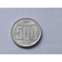 Moneda Argentina Antigua 500 Australes Año 1990