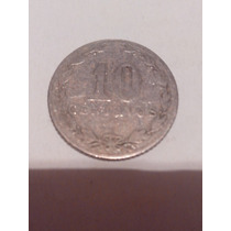 Moneda De 10 Centavos 1909 República Argentina