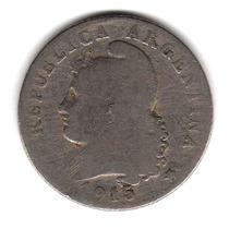 Moneda Argentina Niquel 20 Centavos 1915