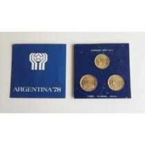 Colección Monedas Argentinas Mundial 1978