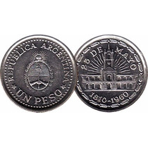 Moneda Argentina Un Peso 25 De Mayo 1810-1960