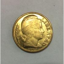 Moneda Argentina 10 Centavos 1950. Bronce. Sin Circular