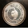 Encuentro De Dos Mundos-de Tatu Guazu-moneda De Plata 1994