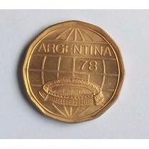 Argentina 100 Pesos 1977 Mundial 1978 Sin Circular