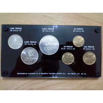 Monedas Argentinas De Plata Conmemorativas Mundial 78