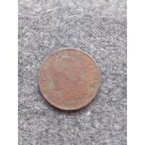 Moneda Antigua Argentina Niquel Año 1925 20 Centavos Oxido
