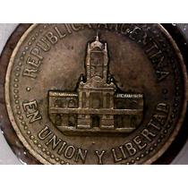 Variante Moneda 25 Centavos 1992 Nido A La Derecha