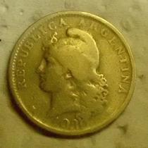 Argentina:moneda De 20 Centavos-año 1930