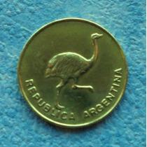 Moneda - Argentina - Un Centavo - Año 1985/1986/1987