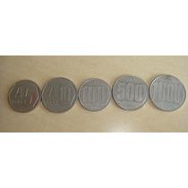 Monedas Argentinas De Australes Años 1989 90 91 Numismatica