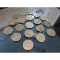 Lote De19 Monedas De 10 Pesos Año 1976 - 1977 - 1978
