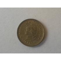 Moneda Argentina Antigua 10 Cvos. Pesos Ley 18188 Año 1974