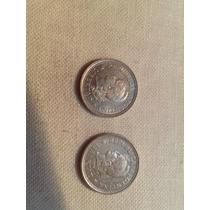 2 Monedas Antiguas Argentina 1970 Y 1972 5 Centavos