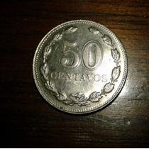 Moneda Argentina De 50 Centavos De 1941 Lote De 227 Unidades