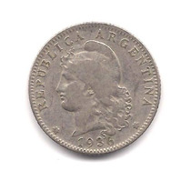 Niquel 20 Centavos Año 1936 10 Dolares Catalogo Oferta