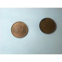 1 Centavo Lote De Dos Monedas Excelentes Año 1946