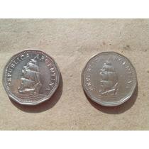 Monedas Antiguas Argentina, 5 Pesos 1966 1967 Hermosas