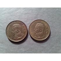 2 Monedas Antiguas Argentina 100 Pesos 1980 Bronce Lindas+++