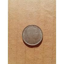Moneda Antigua Uruguay 1942 De Plata 20 Centavos