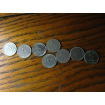 5 Centavos San Martin Anciano Serie Completa De 8 Monedas