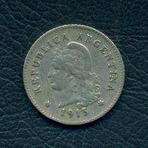 Moneda Argentina 1915 10 Centavos Cj#104
