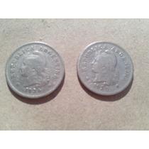 Argentina Monedas Antiguas De 10 Centavos Año 1936