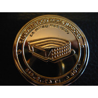 Moneda Medalla Xentenario Boca Juniors Dorada De Colección