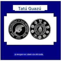 Moneda De Plata : Tatú Guazú Proof Ag 925 Año *1996*