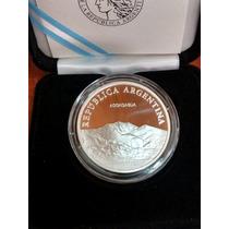 2010 - Moneda De Plata, Bicentenario 1810-2010 - Aconcagua
