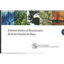 Nuevo Blister De Monedas Del Bicentenario 2010
