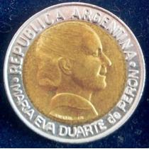 1997 - Argentina - 1 Peso - Evita - Voto Femenino