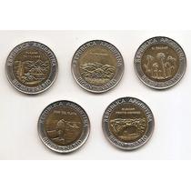 Argentina Monedas Bicentenario Serie 5 Modelos 1810-2010