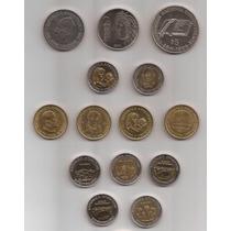 14 Monedas Conmemorativas Argentinas Borges, Urquiza Etc