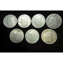 Lote 12 Monedas De Niquel 20 Y 10 Centavos 1897 A 1919