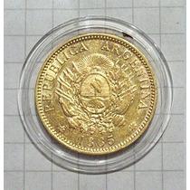 Argentina 5 Pesos Oro 1885 8 Gr. Sin Circular