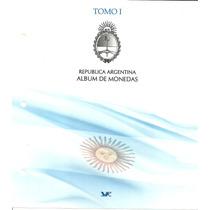 Album Para Guardar Monedas Argentinas Tomo 1