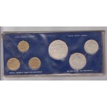 Argentina Moneda Del Mundial 78 Plata Y Bronze 6 Piezas