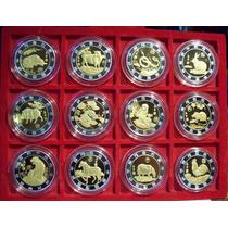 China Colección Animales Del Zodiaco 12 Piezas De 1 Onza Enc