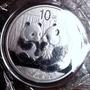 Moneda De Plata China 1 Onza Plata 2009 Unc Panda Proof